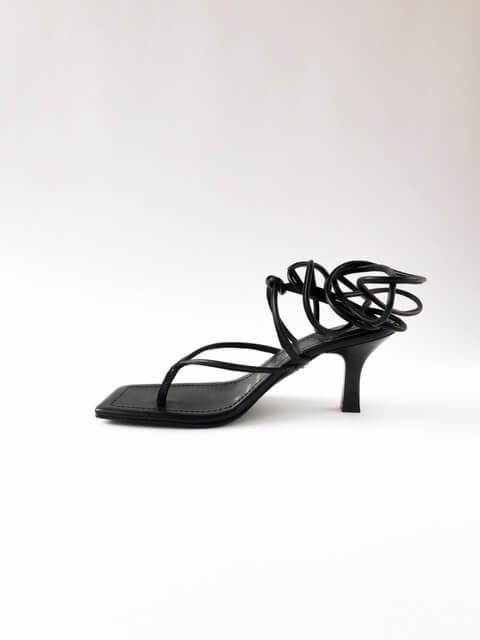 sandaal Bronx Oli-viah zwart